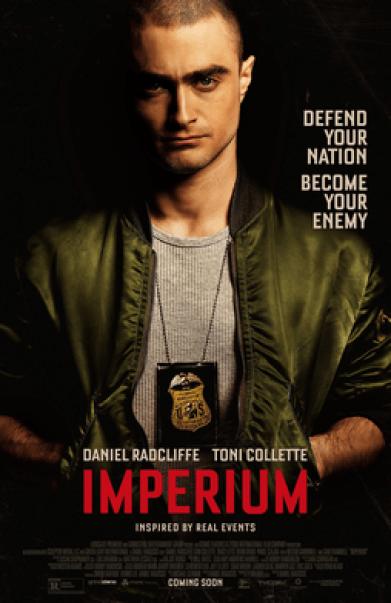 Póster de la película Imperium. Autor: Lionsgate Premiere, 2016. Fuente: lionsgate.com/  Fair Use