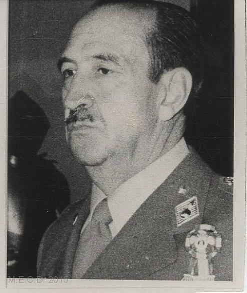 Alfonso Armada, segundo jefe del Estado Mayor durante el 23F (archivo). Agencia EFE. Fuente: Biblioteca Virtual de Patrimo Bibliográfico (CC BY 4.0.)