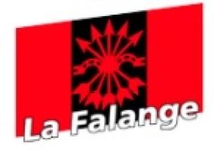 Logotipo de La Falange. Autor: La Falange. Fuente:lafalange.org