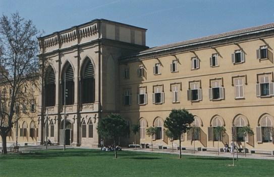 Universitat de Lleida, donde se ha encerrado Pablo Hasél. Autor: zkvrev. Fuente: Wikimedia Commons. (CC BY 3.0).