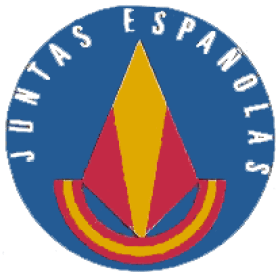Logo de las Juntas Españolas, fuerza política de ultraderecha donde se integró el partido de Tejero golpe de estado