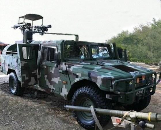 URO VAMTAC Igla Djigit-AA Pod, vehículos militares del Regimiento Mixto de Infantería nº 63. Autor: Tomahawkarf, 2019. Fuente: Wikimedia Commons (CC BY-SA 4.0.)