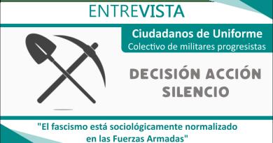 Ciudadanos de Uniforme: 'El fascismo está sociológicamente normalizado en las Fuerzas Armadas'