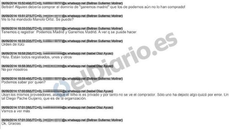 Extracto del sumario del Caso Púnica. Fuente: elDiario.es (CC BY-NC 4.0)