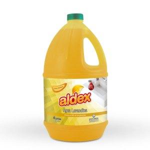 Agua lavandina Aldex.