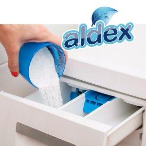 Jabón para ropa en polvo tipo skip.