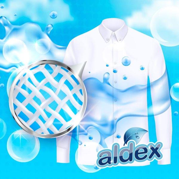 Jabón para ropa, penetra en las fibras.