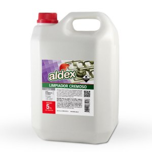 Limpiador cremoso multiuso Aldex x 5L.