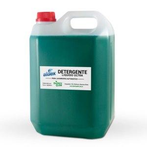 Jabón líquido ECO ULTRAGREEN para la ropa Aldex x 5L.
