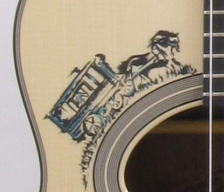 Guitare Chêne des Marais