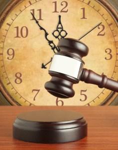 Tribunal Supremo no halla justa causa para prorrogar término de cumplimiento estricto