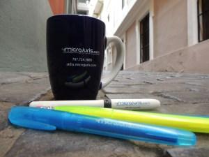 Cafecito en nuestras oficinas del Viejo San Juan