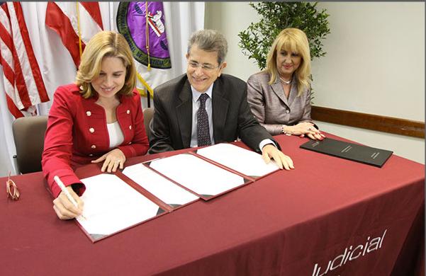 Rama Judicial y Municipio de San Juan firman acuerdo de colaboración para promover y desarrollar proyectos educativos que amplíen el acceso a la justicia