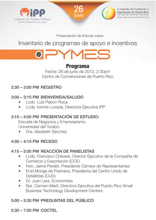 Programa PYMES