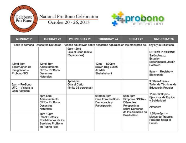 Pro Bono UPR