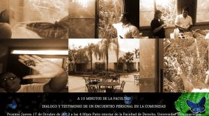 A 15 minutos de la Facultad: Diálogo y testimonio de un encuentro personal en la comunidad