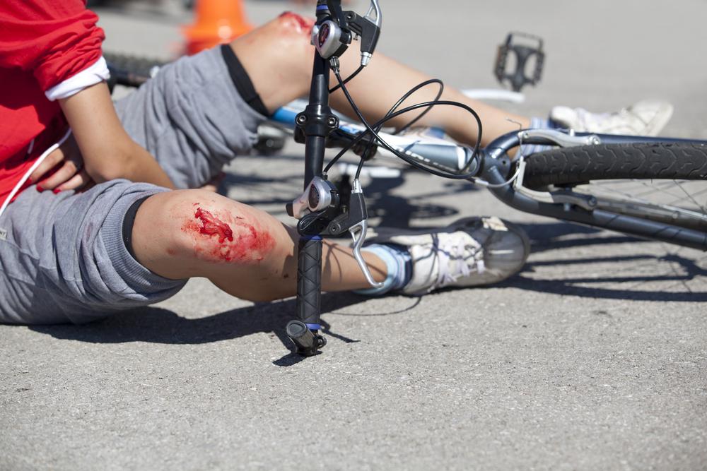 Bici accidente