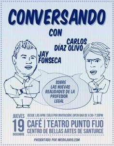 Conversando con Carlos Díaz Olivo y Jay Fonseca