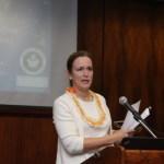 Sharon Lovejoy, Presidenta del Capítulo Hawai'i, Federal Bar Association
