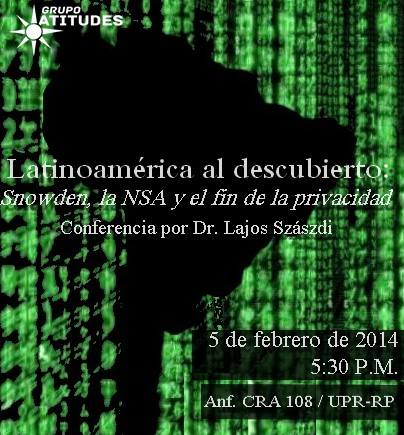 Snowden, la NSA y el fin de la privacidad
