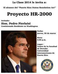 El alcance del Puerto Rico Status Resolution Act