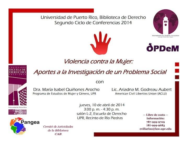 Violencia contra la mujer: aportes a la investigación de un problema social