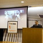 En su exposición el licenciado William Vázquez Irizarry presentó las aportaciones de Hernández Denton al Derecho Administrativo