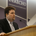 El Hon. Alfonso Martínez Piovanetti abordó el tema del derecho municipal y las aportaciones al mismo en la jurisprudencia de Hernández Denton.