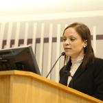 La licenciada Glenda Labadie Jackson analizó la trayectoria de Hernández Denton en los casos de Derecho de Familia.