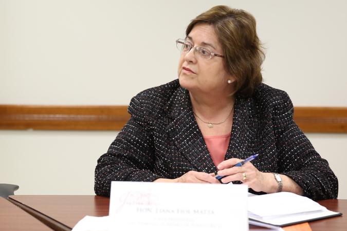 Jueza Fiol Matta participa de Comisión de Acceso a la Justicia