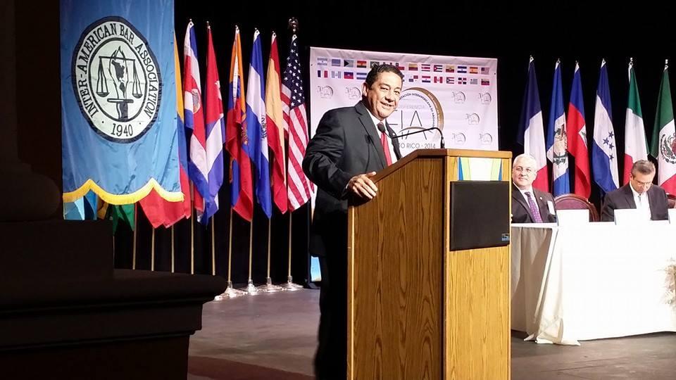 Lcdo. José Alvarez, Presidente de la FIA