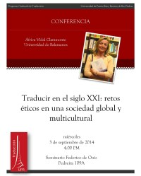 Traducir en el siglo XXI: retos éticos en una sociedad global y multicultural