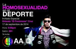 """Inter Derecho: la homosexualidad en el deporte con Orlando """"El Fenómeno"""" Cruz"""