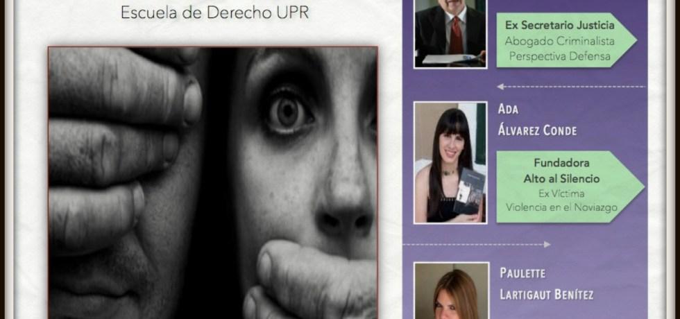 Víctima, defensa, fiscalía y juez en Derecho UPR