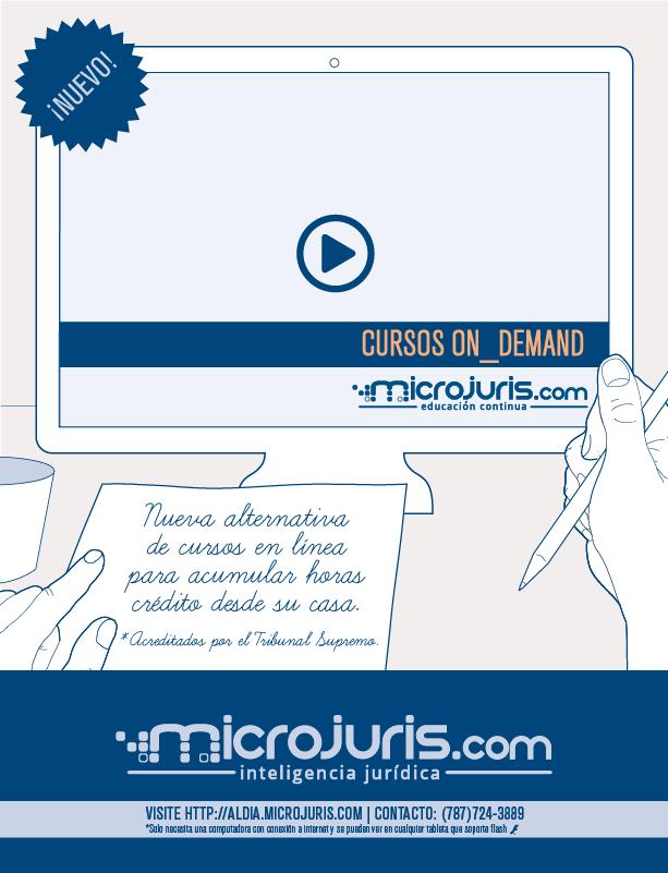 Cursos Microjuris