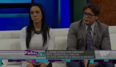 Alvin Couto y Natalia Mejía