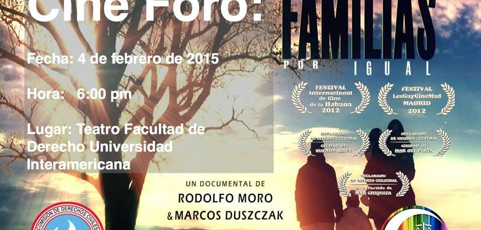 Inter Derecho presenta documental «Familias por igual»