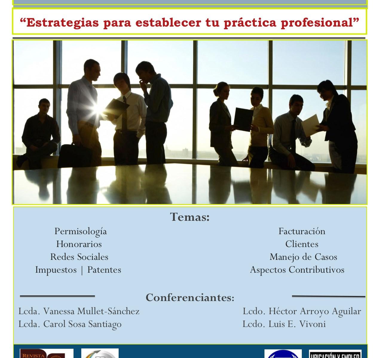 Estrategia para establecer tu práctica profesional