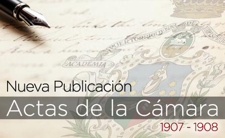 Presentación del Libro de Actas de la Cámara de Delegados de Puerto Rico