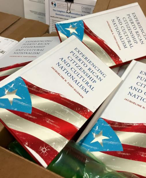 Libro: «Experiencing Puerto Rican Citizenship and Cultural Nationalism» de Jacqueline N. Font-Guzmán