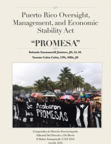 Publican libro electrónico sobre la Ley PROMESA