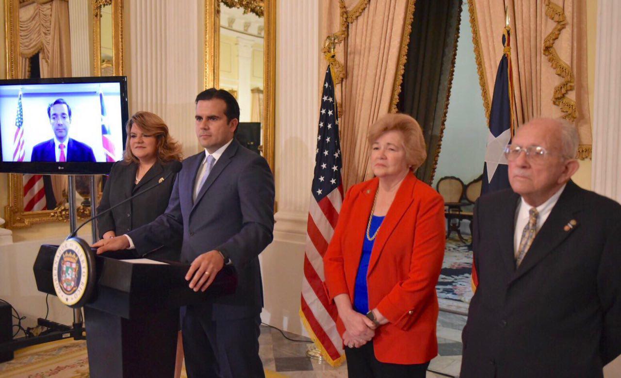 Gobernador designa nuevos cabilderos del Plan Tenesí: Fortuño, Fonalledas y Santoni