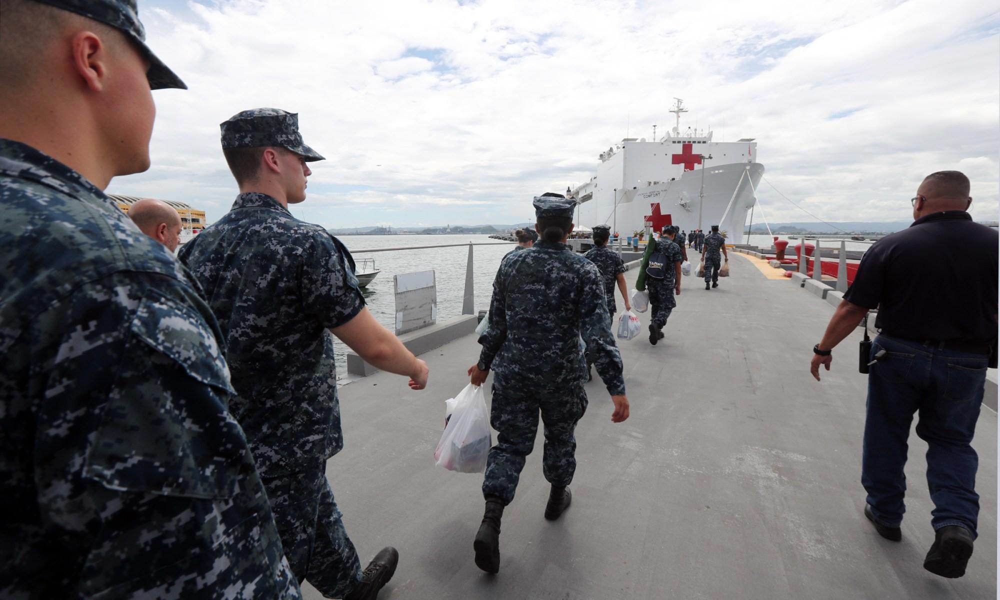 Gobernador anuncia regreso del USNS Comfort al Puerto de San Juan