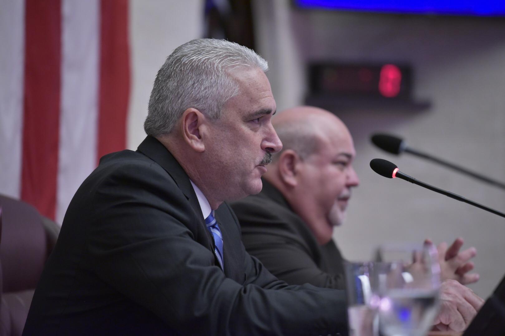 """""""No se eliminarán municipios"""": Presidente del Senado anuncia agenda de trabajo de la tercera sesión legislativa"""