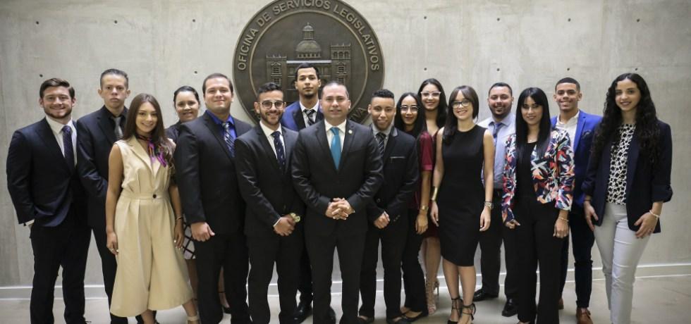 Senado da la bienvenida a jóvenes que participarán en Internado Legislativo