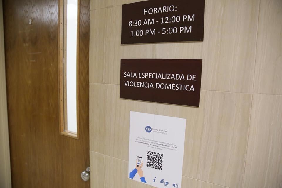 Jueza Presidenta inaugura la séptima sala especializada en casos de violencia doméstica en la Región Judicial de Carolina