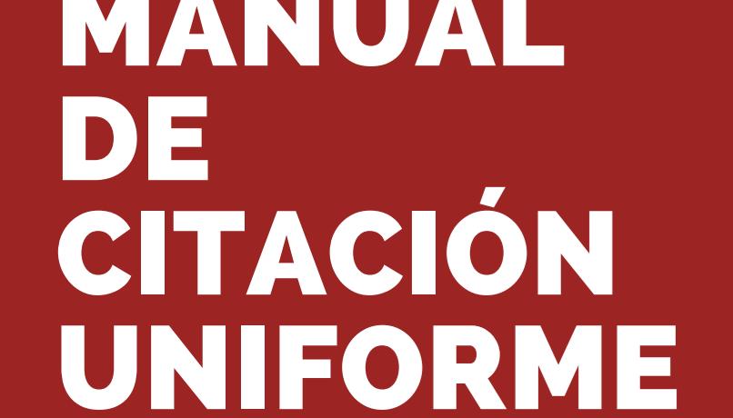 Manual de Citación Uniforme