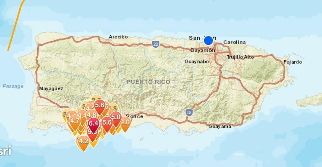 terremotos puerto rico