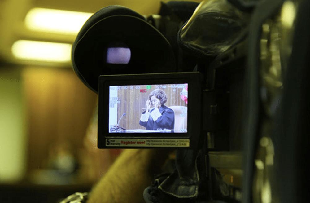 cámaras en los tribunales