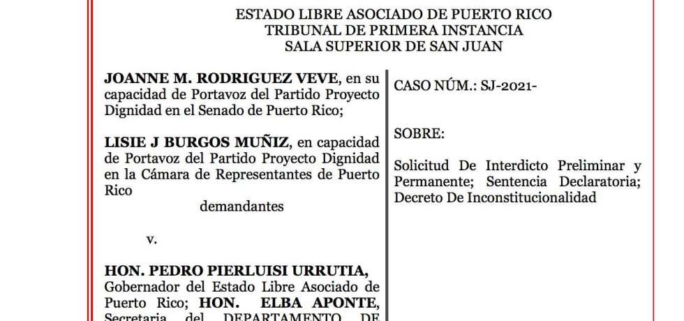Rodríguez Veve vs. Pierluisi Urrutia